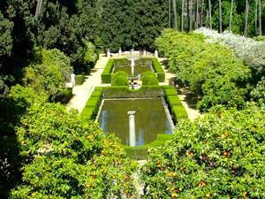 Reales Alcázares, Jardín de los Poetas