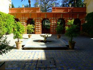 Reales Alcázares, Jardín de Troya