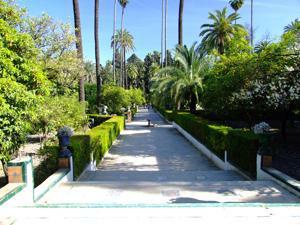 Reales Alcázares, Jardín del Marqués de la Vega Inclán