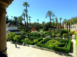 Reales Alcázares, Jardines de la Alcoba