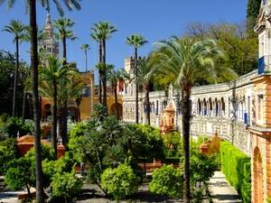 Reales Alcázares, Jardines de los Reales Alcázares