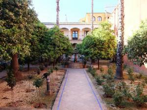 Reales Alcázares, Patio de la Alcubilla