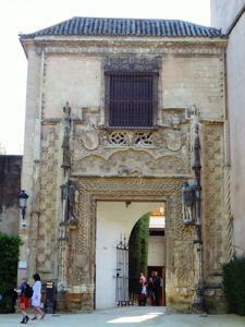 Reales Alcázares, Puerta de la Marchena o de los Duques de Arcos