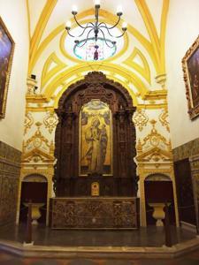 Reales Alcázares, Capilla del Palacio Gótico