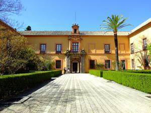 Reales Alcázares, Patio del Crucero