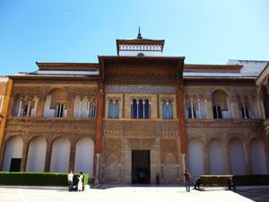 Reales Alcázares, Patio de Montería