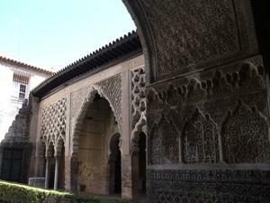 Reales Alcázares, Patio del Yeso
