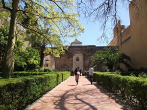 Reales Alcázares, Patio del León