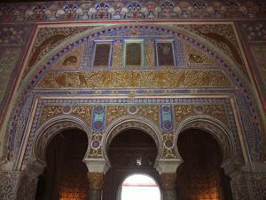 Reales Alcázares, Salón Techo Felipe II