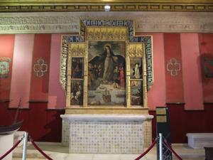 Reales Alcázares, Retablo de la Virgen del Buen Aire o de los Mareantes