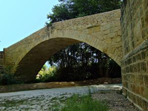 Talamanca de Jarama, Puente romano, arco central