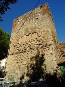 Talamanca de Jarama, Torreón del recinto amurallado