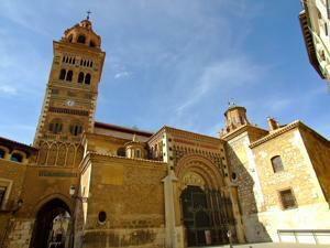 Teruel, Catedral, Torre Mudéjar