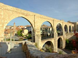Teruel, Acueducto-viaducto de Los Arcos