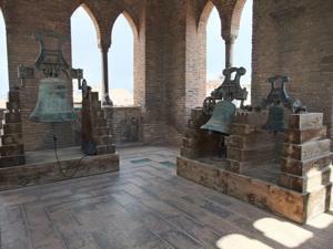 Teruel, Torre del Salvador, campanario