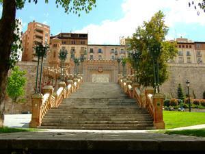Teruel, Escalinata