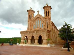 Teruel, Iglesia de El Salvador, en Villaspesa