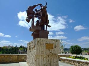 Teruel, Monumento a la Vaquilla