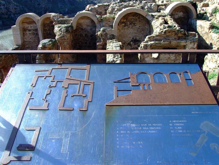 Baños Romanos Toledo:Localización: Plaza de El Salvador, s/n