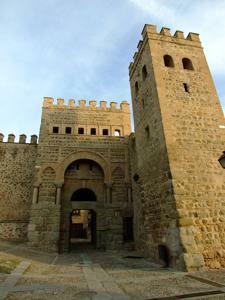 Toledo, Puerta de Alfonso VI o de la Bisagra antigua