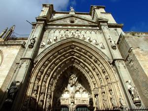 Toledo, Catedral de Santa María, Puerta de los Leones