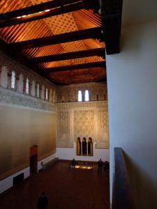 Toledo, Sinagoga del Tránsito, interior