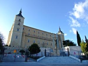 Toledo, Alcázar, fachada Este