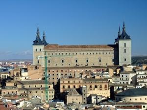 Toledo, Alcázar, fachada Oeste