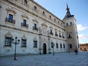Toledo, Alcázar, fachada Norte