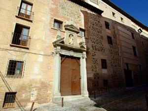 Toledo, Convento de San Clemente, otra portada