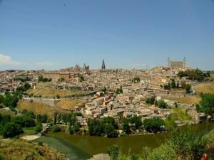 Panorámica de Toledo desde el Sur-Sureste