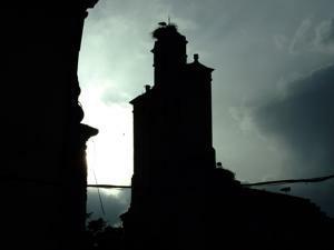 Torrelaguna, Espadaña del Monasterio Franciscano de la Madre de Dios
