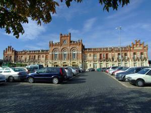 Tren de la Fresa y Aranjuez, Estación de tren de Aranjuez