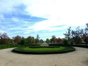 Tren de la Fresa y Aranjuez, Jardín del Parterre