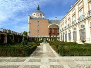 Tren de la Fresa y Aranjuez, Jardín del Rey