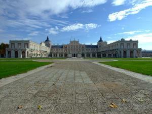 Tren de la Fresa y Aranjuez, Palacio Real de Aranjuez