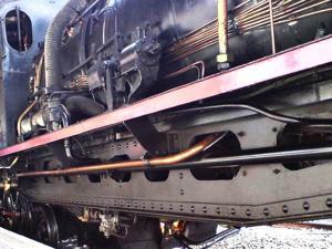 Tren de la Fresa y Aranjuez, Hogar de la caldera de la locomotora