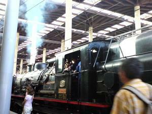 Tren de la Fresa y Aranjuez, Tren en la Estación de Atocha